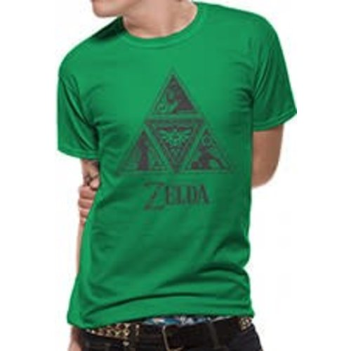 CID Nintendo - Zelda Triforce Shirt