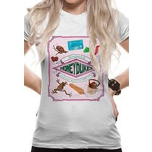 CID Harry Potter - Honeydukes Fitted T-shirt - White