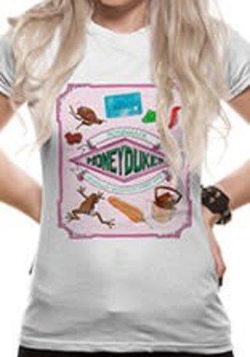 Harry Potter - Honeydukes Fitted T-shirt - White