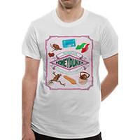 Harry Potter - Honeydukes Unisex T-shirt - White