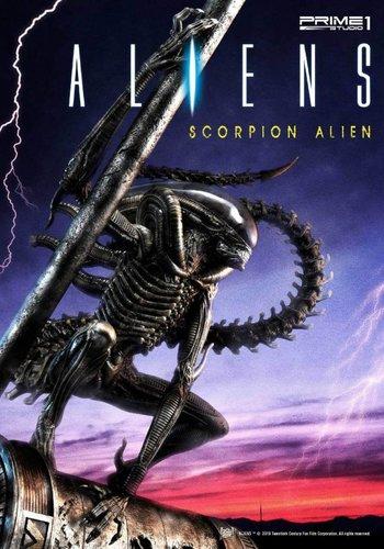 Alien: Comic Book Version - Scorpion Alien 1:4 Scale Statue