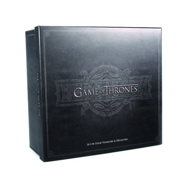 Half Moon  Bay Game of Thrones Premium Decanter Set