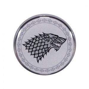 Half Moon  Bay Game of Thrones Enamel Badge - Stark