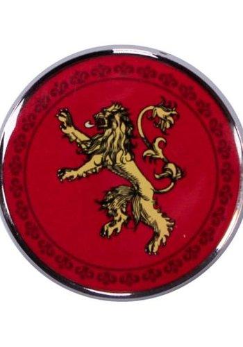 Game of Thrones Enamel Badge - Lannister