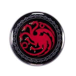 Half Moon  Bay Game of Thrones Enamel Badge - Targaryen
