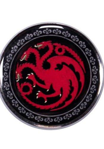 Game of Thrones Enamel Badge - Targaryen