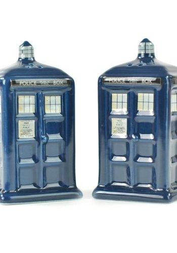 Doctor Who Salt & Pepper Shakers - Tardis
