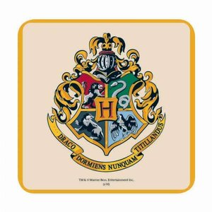 Half Moon  Bay Harry Potter Coaster - Hogwarts Crest