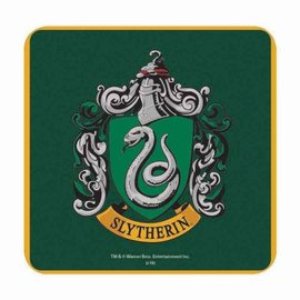 Half Moon  Bay Harry Potter Coaster - Slytherin Crest