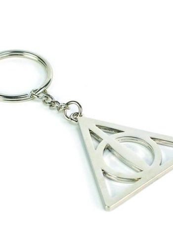 Harry Potter Keyring - Deathly Hallows