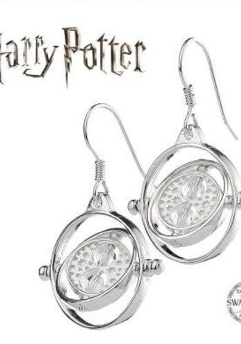 Harry Potter Embellished with Swarovski® Crystals Time Turner Earrings