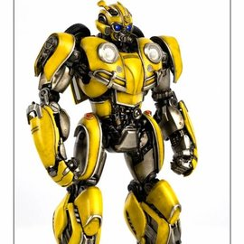 Three A Toys Transformers: Bumblebee Movie - DLX Bumblebee Figure