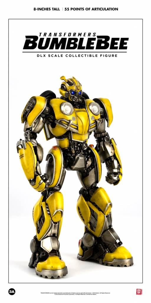 Three A Toys Transformers: Bumblebee Movie - DLX Bumblebee Figure