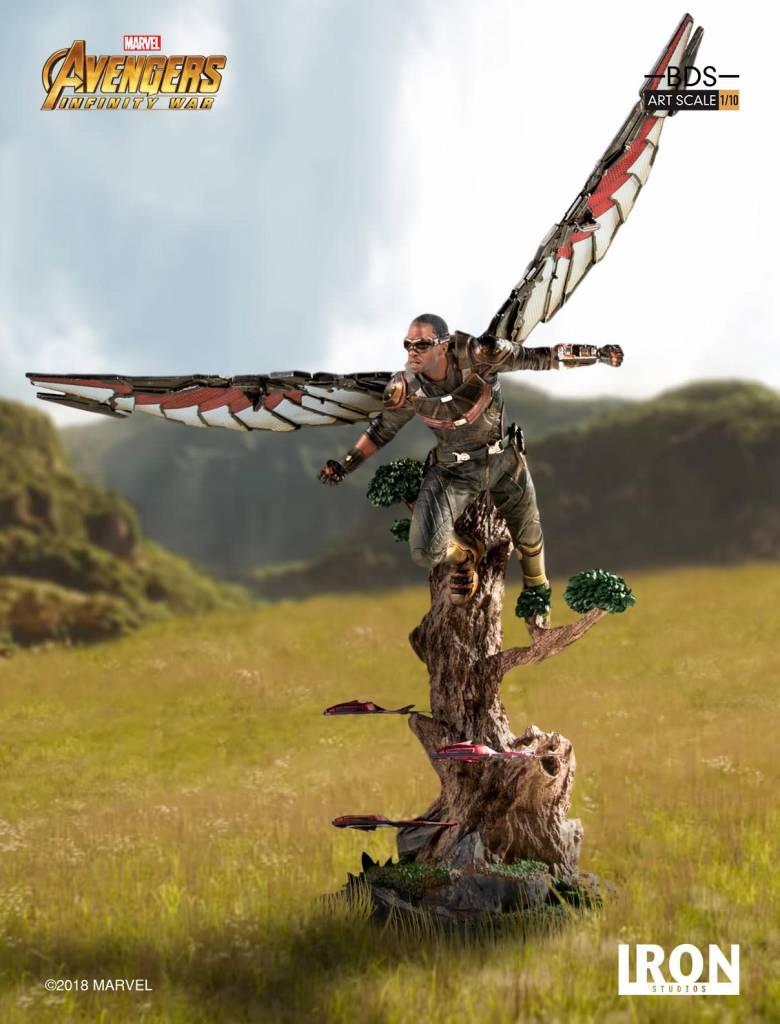 Iron Studio Marvel: Avengers Infinity War - Falcon 1:10 Scale Statue