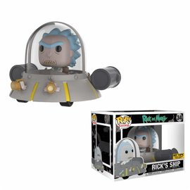 FUNKO Pop! Rides: Rick and Morty - Space Cruiser LE