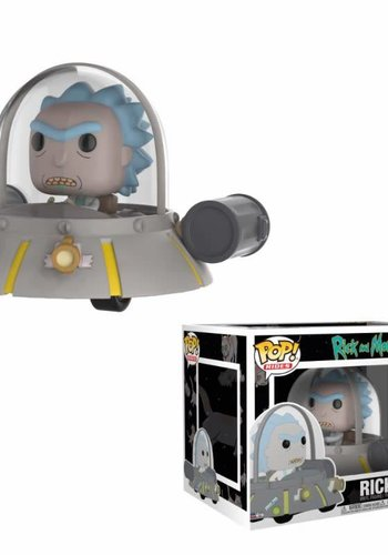 Pop! Rides: Rick and Morty - Space Cruiser LE