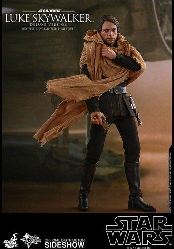 Star Wars VI: Deluxe Luke Skywalker Endor 1:6 Scale Figure