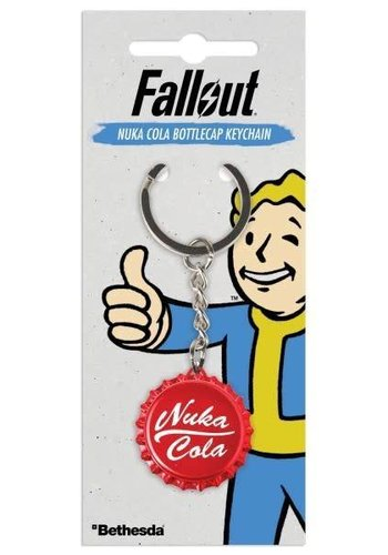 Fallout: Nuka Cola Bottlecap Keychain