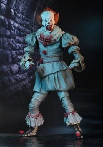 IT 2017 movie: Ultimate I Heart Derry Pennywise - 7inch Action Figure