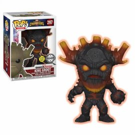 FUNKO Pop! Marvel: Contest of Champions - Glow in the Dark King Groot LE