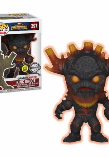 Pop! Marvel: Contest of Champions - Glow in the Dark King Groot LE