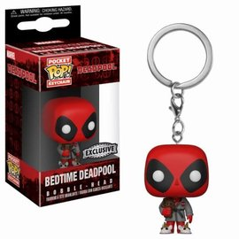 FUNKO Pocket Pop Keychain: Marvel - Deadpool Bath Robe LE