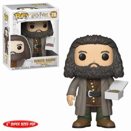 FUNKO Pop! Harry Potter: - 6 inch Hagrid with Cake
