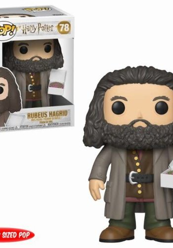 Pop! Harry Potter: - 6 inch Hagrid with Cake