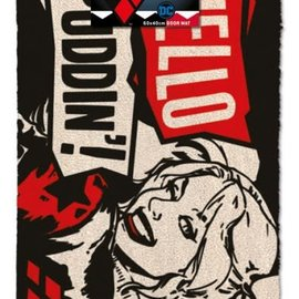 Hole In The Wall DC Comics: Harley Quinn Hello Puddin' Doormat