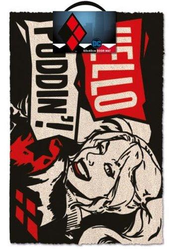 DC Comics: Harley Quinn Hello Puddin' Doormat