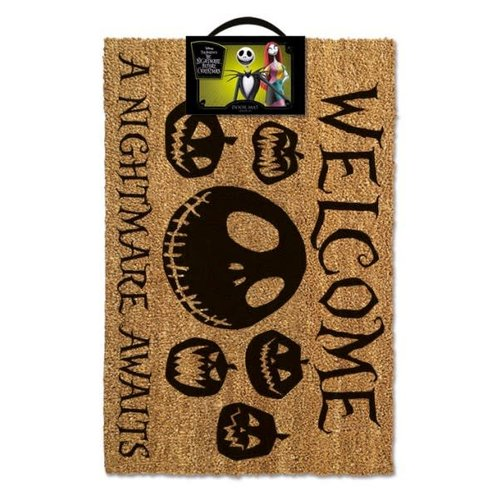 Hole In The Wall Nightmare Before Christmas: A Nightmare Awaits Doormat