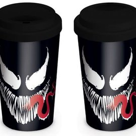 Hole In The Wall Marvel: Venom Face Travel Mug