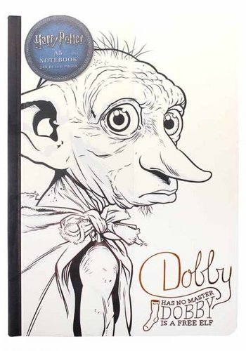 HARRY POTTER A5 NOTEBOOK - DOBBY