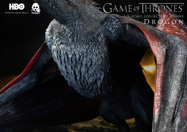 Three A Toys Game of Thrones: Drogon 1:6 Scale Statue