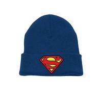 Superman - Logo Headwear - Blue beanie
