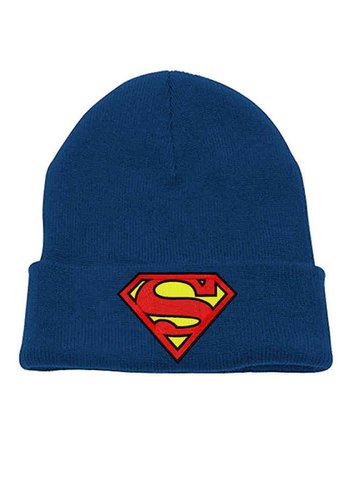 Superman - Logo Headwear - Blue beanie