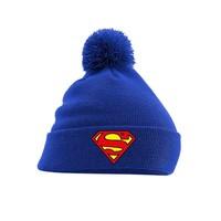 Superman - Logo Headwear - Blue