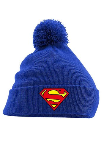 Superman - Logo Headwear - Blue