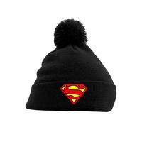 Superman - Logo Headwear - Black