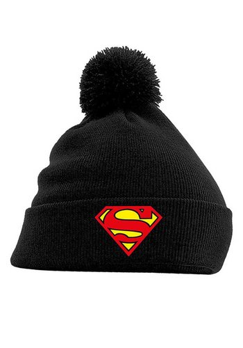 Superman - Logo Headwear - Black
