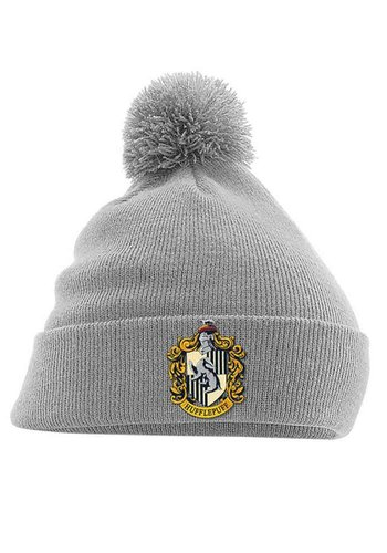 Harry Potter - Hufflepuff Crest Headwear - Grey