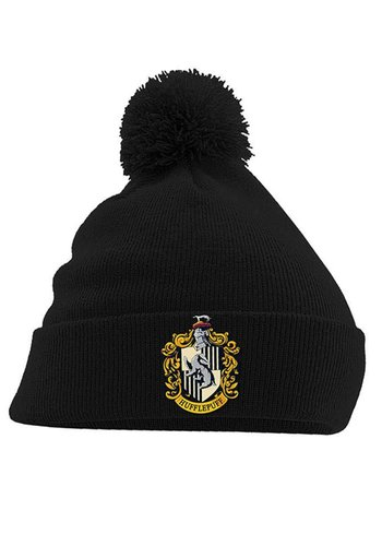 Harry Potter - Hufflepuff Crest Headwear - Black