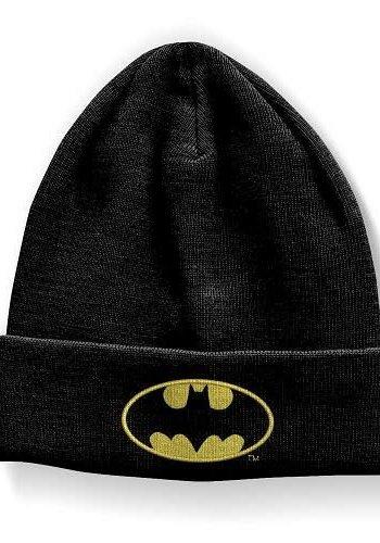 Batman - Logo Black Beanie Headwear - Black