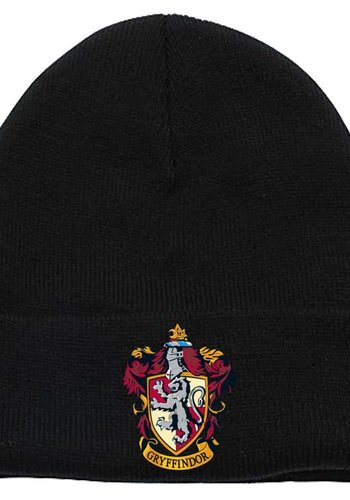 Harry Potter - Gryffindor Crest Beanie Headwear - Black