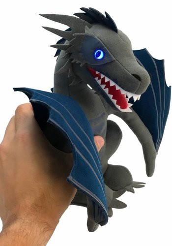 Game of Thrones: Icy Viserion Dragon Light Up Plush 2018