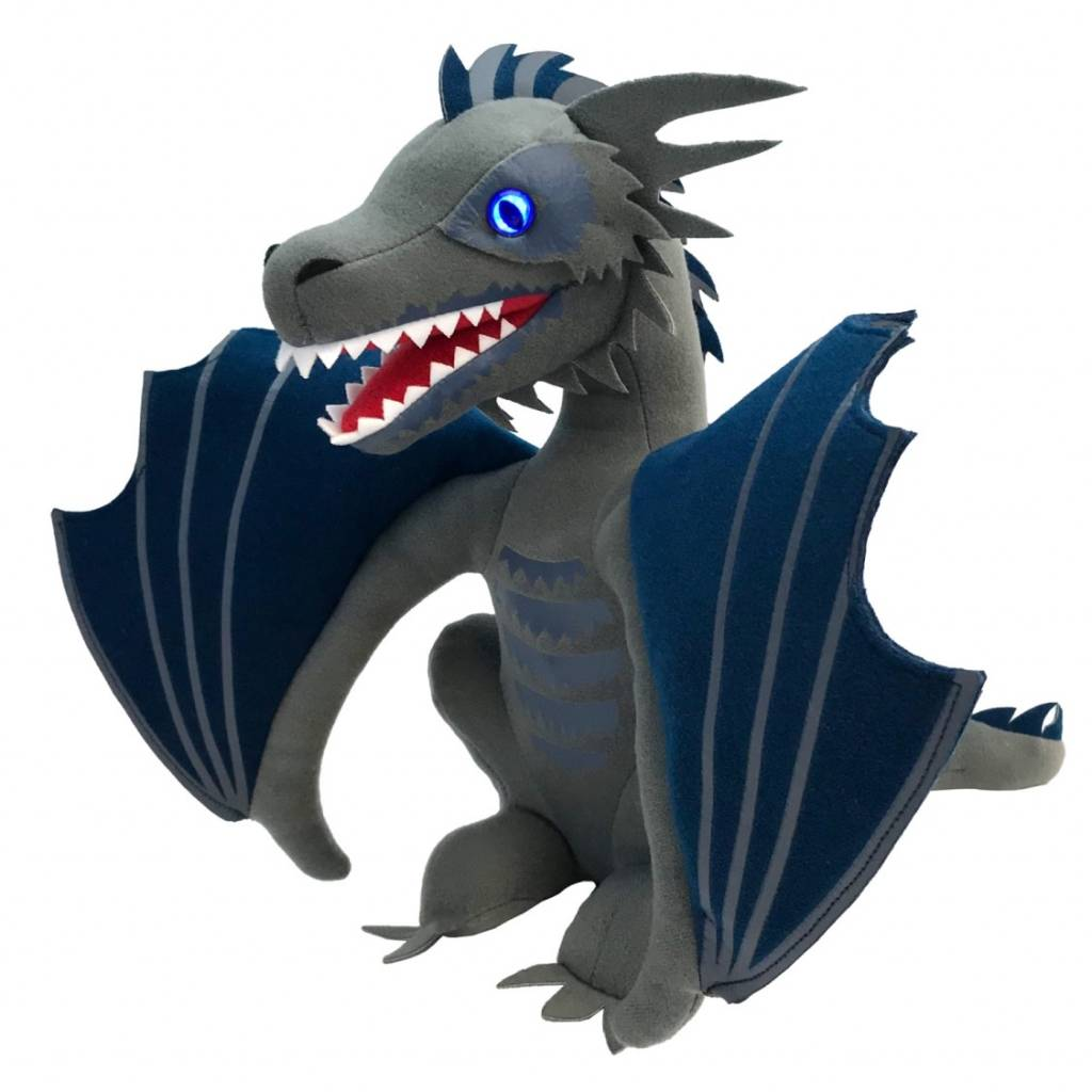 Factory Entertainment Game of Thrones: Icy Viserion Dragon Light Up Plush 2018