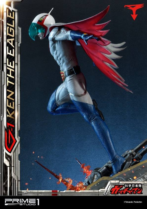 Prime 1 Studio Gatchaman: Ken the Eagle 1:4 Scale Statue