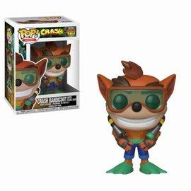 FUNKO Pop! Games: Crash Bandicoot - Scuba Crash