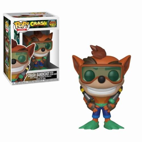 FUNKO Pop! Games: Crash Bandicoot - Scuba Crash