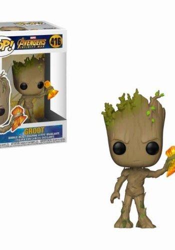 Pop! Marvel: Infinity War - Groot with Stormbreaker